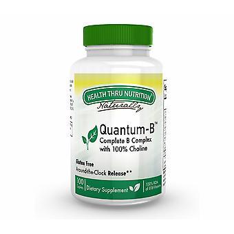 Quantum-B Complex (w/ 100% Choline) (60 Comprimés) - Health Thru Nutrition