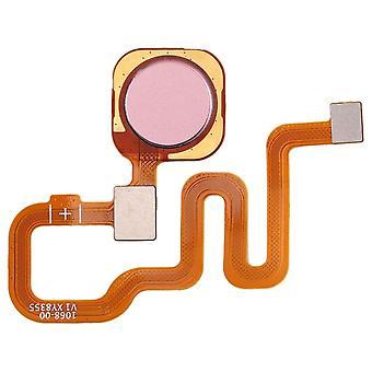 Vingerafdruk sensor voor Xiaomi Redmi Note 6 Pro roze Home knop knop reparatie reserveonderdeel