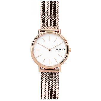 Skagen SKW2694 Watch - Milansteel Steel Watch Dor e Rose Women