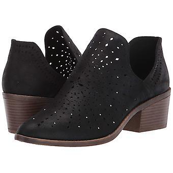 Fergalicious Womens Wyatt Fabric Almond Toe Ankle Fashion Boots