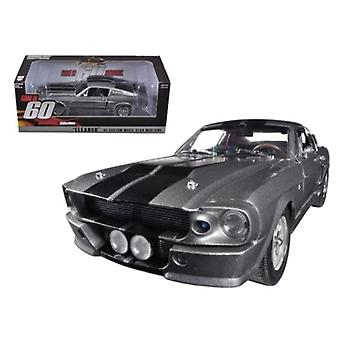 1967 Ford Mustang Custom \Eleanor\ Gone In 60 Seconds Movie (2000) 1/18 Diecast Car Model By Greenlight
