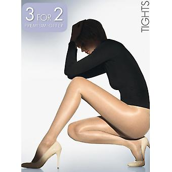 Wolford Satin Touch 20 Tights 3 for 2 Promotion Pack