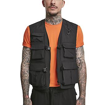 Urban Classics - TACTICAL vest black