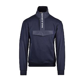 Paul & Shark Paul And Shark Archive Half Zip Sweatshirt Navy