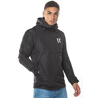 Eleven Degrees 11 Degrees 11d-032-001 Waterproof Lightweight Hurricane Hood Jacket - Black