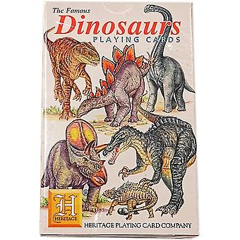 Heritage Playing Cards - Dinosaurs