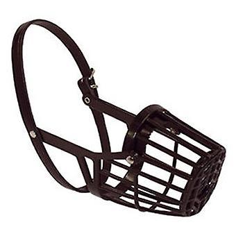 Arppe Black Plastic Basket Kuono (Koirat , Kaulukset, liidit ja valjaat, kuonot)