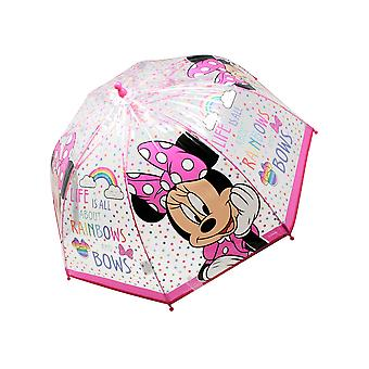 Disney Junior Childrens/Kids Minnie Stick Umbrella