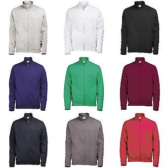 Awdis Mens Plain Fresher Full Zip Sweat / Sweatshirt / Outerwear