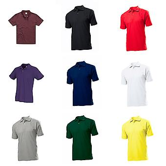 Stedman Mens Cotton Polo
