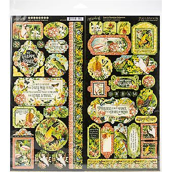 Graphique 45 Collection Pack 12-quot;X12-quot; - Lost In Paradise