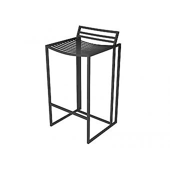 Gillmore Luxe - Metal Bar Stool With Frame Finish Options