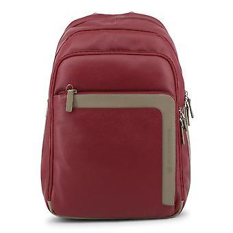Piquadro Original Men All Year Backpack/Rucksack - Red Color 32646