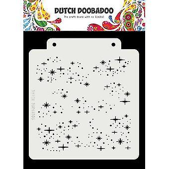 Hollantilainen Doobadoo Hollantilainen naamio Art Starry Night 163x148 470.715.148