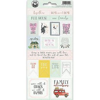 Piatek13 - Sticker sheet We are family 02 P13-FAM-12 10.5x23cm