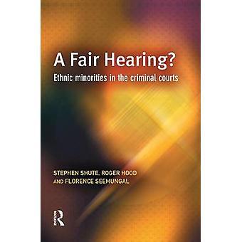 A Fair Hearing by Shute & Stephen