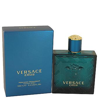 Versace Eros Deodorant Spray By Versace   536341 100 ml