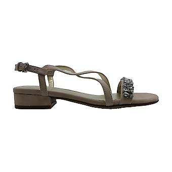 Naturalizer Womens Macy Leather Open Toe Casual Strappy Sandals