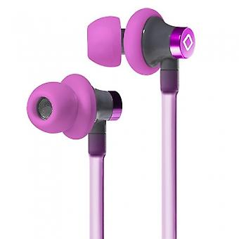 AIRCOM A3 HANDSFREE AIRFLOW MAGNETIC EARBUDS WITH IN LINE MIC AND 3.5MM JACK - PINK