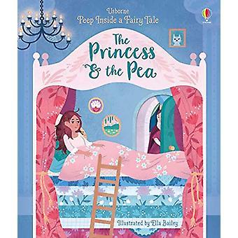Peep Inside a Fairy Tale Princess & the Pea by Anna Milbourne - 9