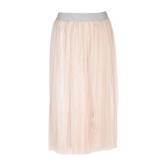 Fabiana Filippi Gnd270w596a947vr2 Women's Beige Nylon Skirt