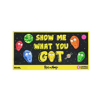 Rick officiel et Morty ' Show Me What You Got' porte Mat / tapis de sol