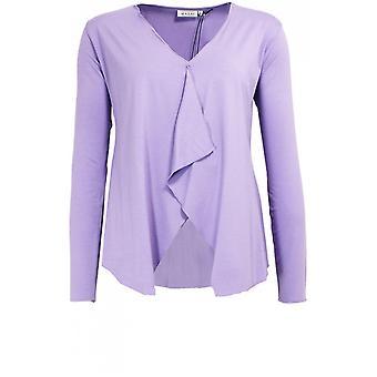 Masai Clothing Itally Violet Cardigan