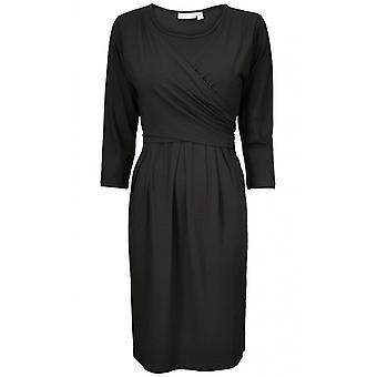 מסאי בגדים השמלה הקדמית עניבה שחורה