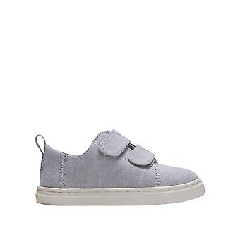 Toms Boys' Chambray Lenny Dubbel rem Sneakers