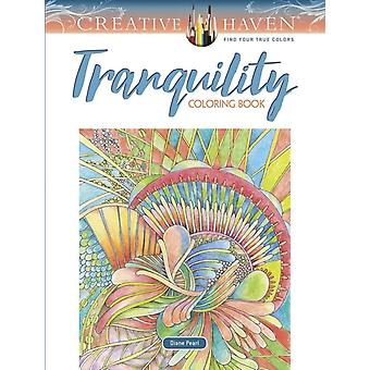 Creative Haven Tranquility Coloring Book by Diane Pearl