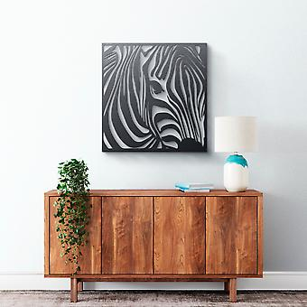 Metal Wall Art - Zebra