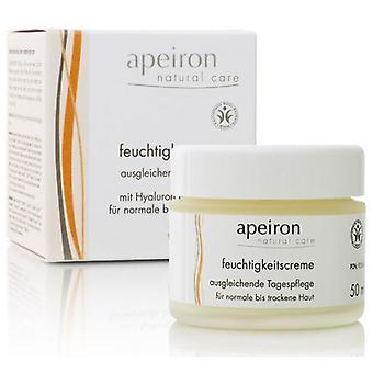 Apeiron Balancing Moisturizing Cream 50 ml