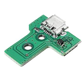 for PS4 Controller USB Charging Port Socket Circuit Board JDS-030 F001 V1 12 pin