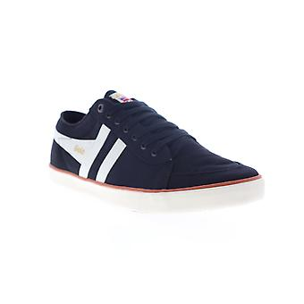 Gola Comet  Mens Black Canvas Lace Up Lifestyle Sneakers Shoes