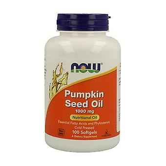 Pumpkin Seed Oil 1000 mg 100 softgels of 1000mg
