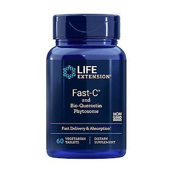 Rápido C e Fitossomo Bio Quercetina 60 cápsulas