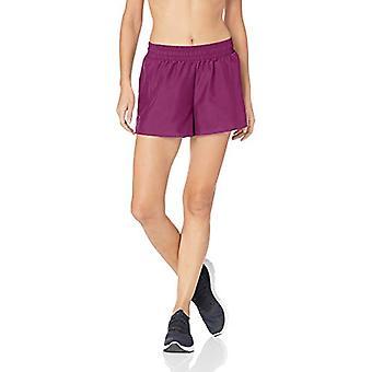 "Marke - Core 10 Frauen's Standard Woven Run Short - 3"", Pflaume, XS (0-2)"