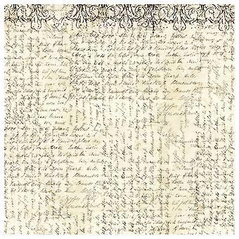 Stamperia riisi paperi lautas liinat käsi kirjoitus (DFT333)