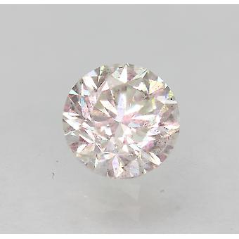 Zertifiziert 0.72 Karat H SI1 Runde Brilliant Enhanced Natural Loose Diamond 5.48mm