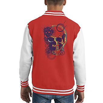 Fremtidige Vision retro Skull Kid ' s Varsity jakke