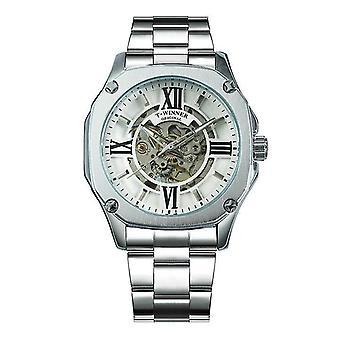 Mode hohle Men's mechanische Uhr