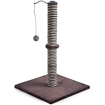 Ancol Premo XL Deluxe Cat Scratching Post - Extra Tall 27 inch - Chocolate