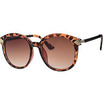 Sunglasses Women's Femme Kat. 3 brown flamed (L6566)