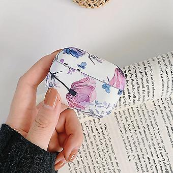 Cute Luminous Vintage Art Flower 2 1 Air Pods Earphone Case For Apple