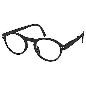 Reading Glasses Unisex Foldable Little Helper Black Strength +1.50