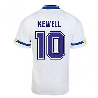 Score Draw Leeds United 1992 Home Shirt (KEWELL 10)