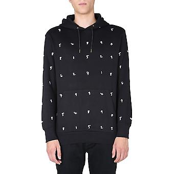 Paul Smith M1r180tep194879 Men's Black Cotton Sweatshirt