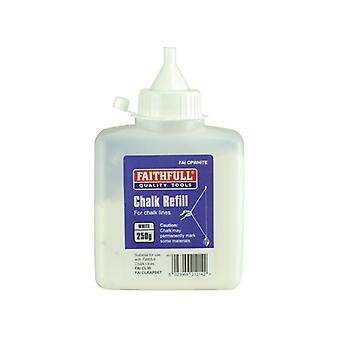 Faithfull Chalk Powder 250g - Witte FAICPWHITE