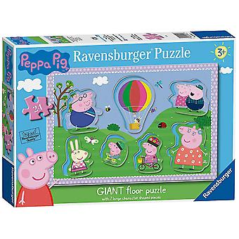 Ravensburger Peppa Pig Giant Floor Puzzle with Large Character Pieces