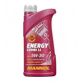 Mannol 1L Energy Combi LL Huile de moteur 5W-30 Longlife 3 Acea C3 504/507